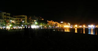 Puerto Pollensa by night