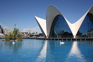 Oceanographic Museum Valencia Spain