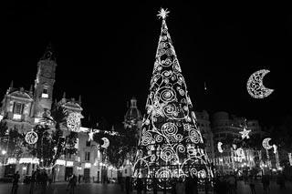 Christmas Lights Valencia Spain