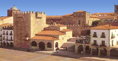Caceres Extremadura Spain