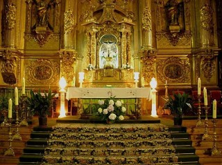 Cathedral altar Spain