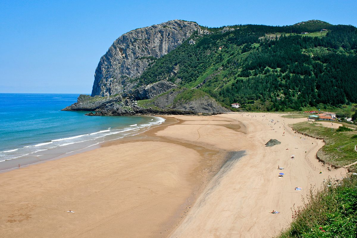 Playa de Laga, Vizcaya, Basque Country
