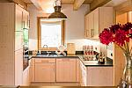 Luxury kitchen, holiday chalet
