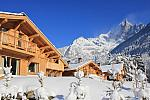 Ski chalet, French Alps