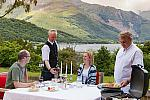 Barbecue with views of loch