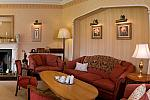 Luxurious hotel lounge