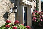 Cotswold stone, hotel entrance