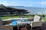 Hotel on Devon coast