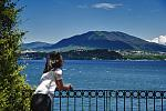 Terrace overlooking Lake Maggiore