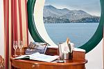 Bedroom with a view of Lake Maggiore