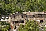 Small country hotel in the Tuscan hills