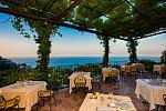 Dinner on the terrace, Amalfi Coast