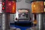 Seat car and upcycled lamps
