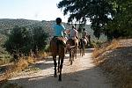 Pony trekking in Spain