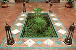 Traditional moorish patio